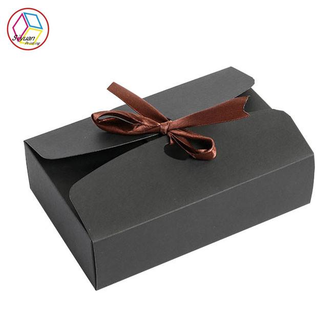 black paper cupcake boxes thin paper cmyk pantone printing